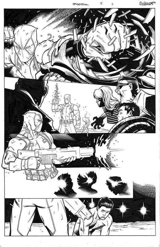 Spider-man / Deadpool # 5 pg11