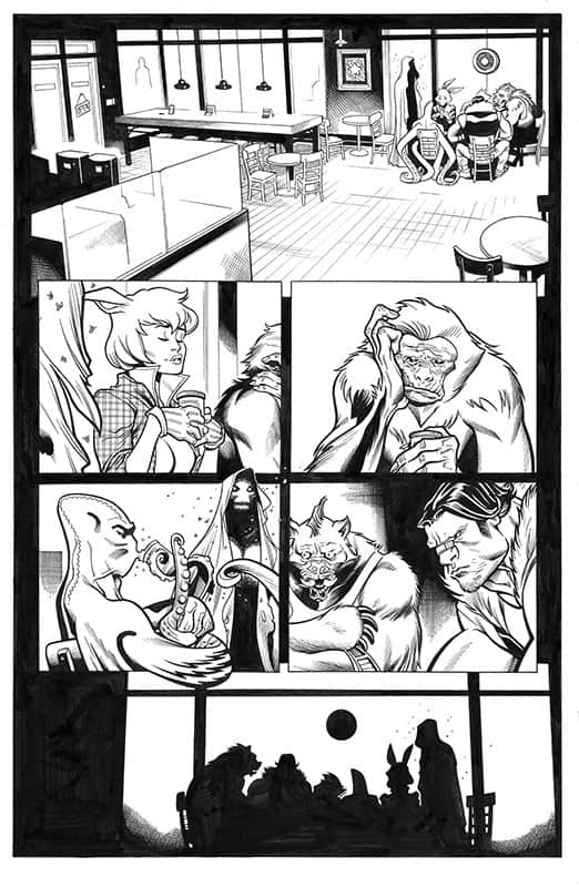 Spider-man / Deadpool # 9 pg 1