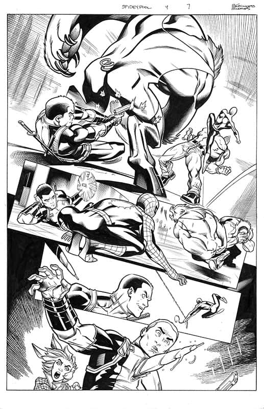 Spider-man / Deadpool # 9 pg 7