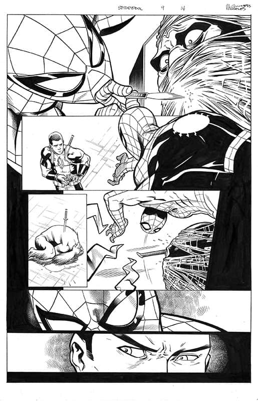 Spider-man / Deadpool # 9 pg14