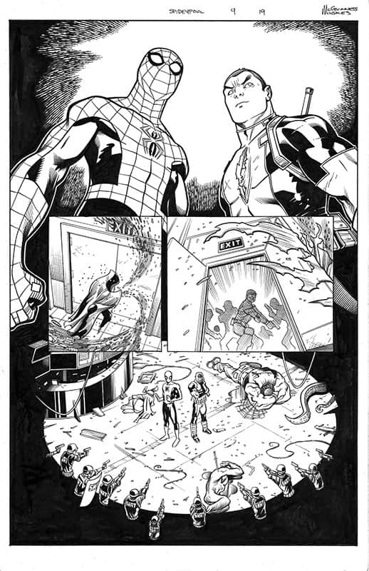 Spider-man / Deadpool # 9 pg19