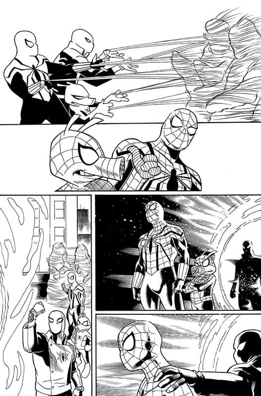 Spiderverse Team Up # 1 pg 9