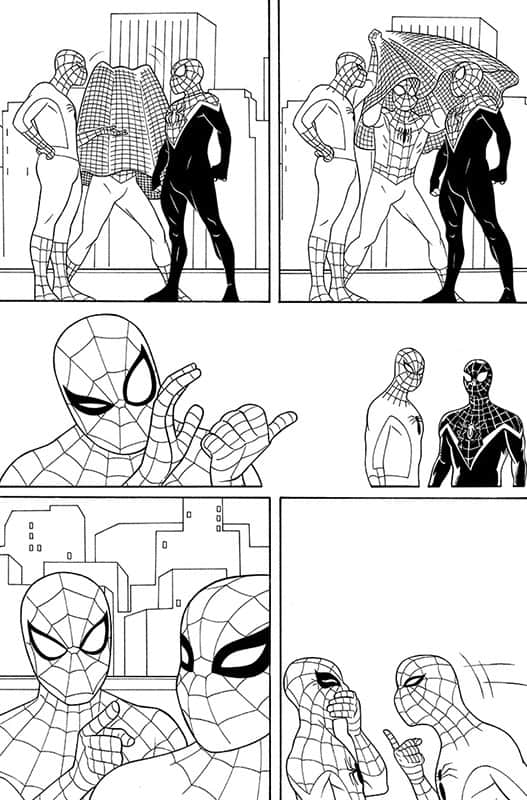 Spiderverse Team Up # 2 pg 4