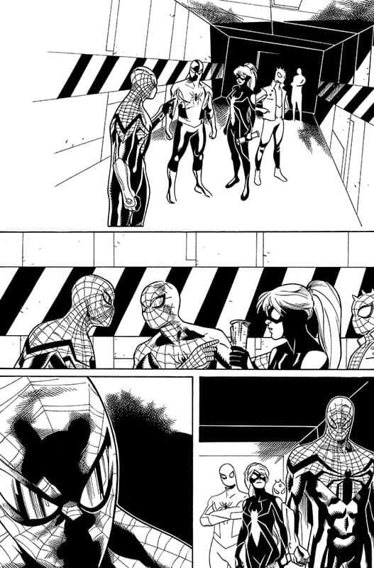 Spiderverse Team Up # 3 pg 1
