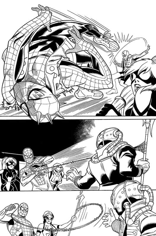 Spiderverse Team Up # 3 pg 4