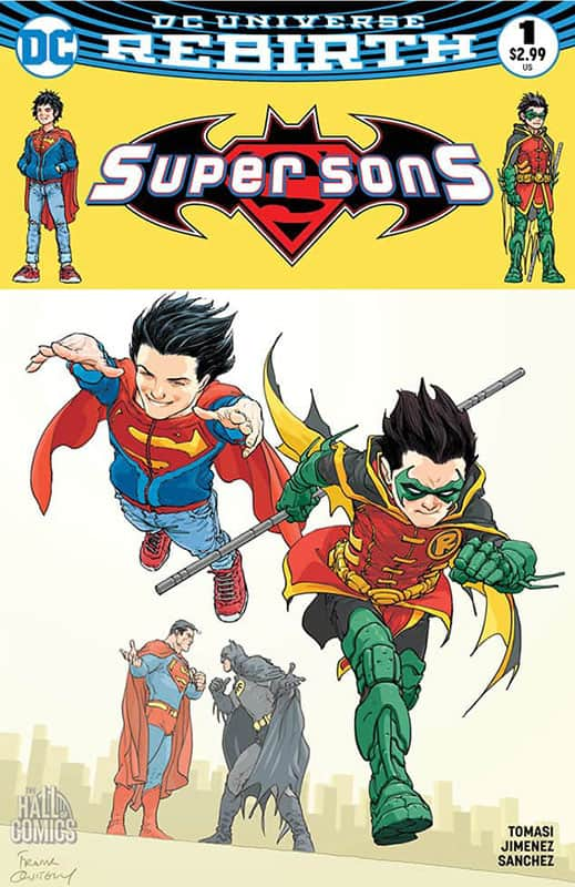 Super Sons # 1 Cover A