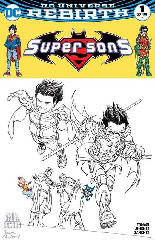Super Sons # 1 Cover B
