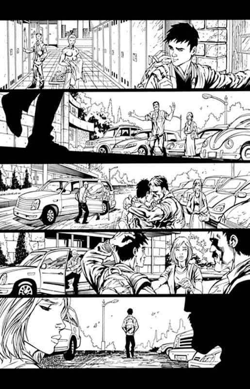 Teen Titans #0 pg  4