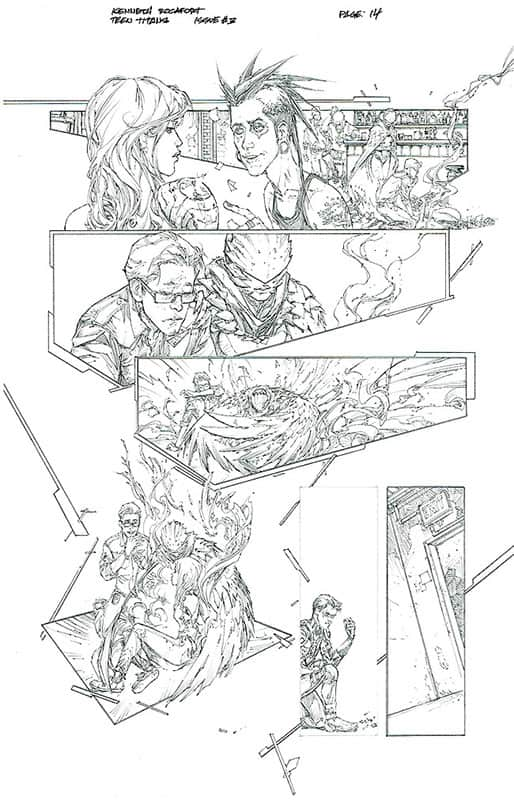 Teen Titans # 3 pg14