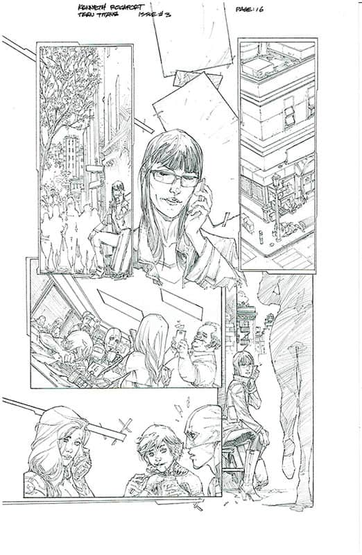 Teen Titans # 3 pg16