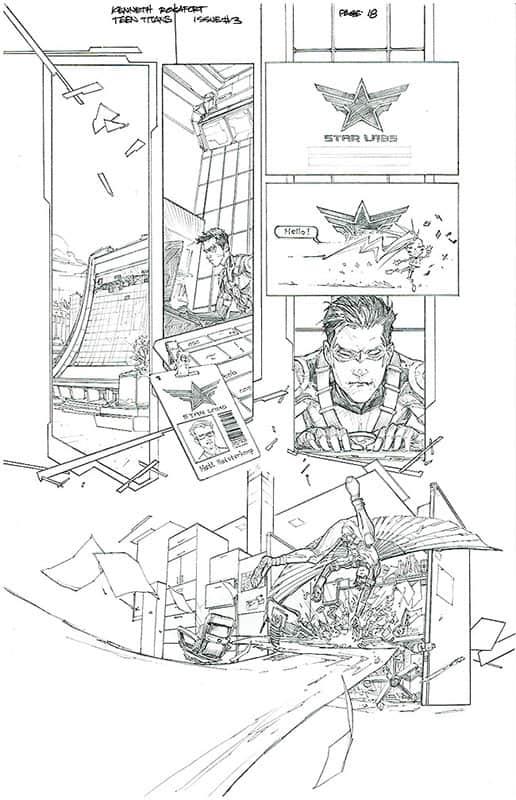 Teen Titans # 3 pg18