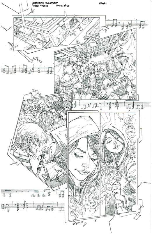 Teen Titans # 3 pg 1