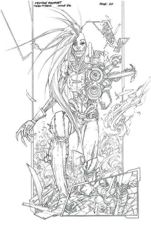 Teen Titans # 3 pg20