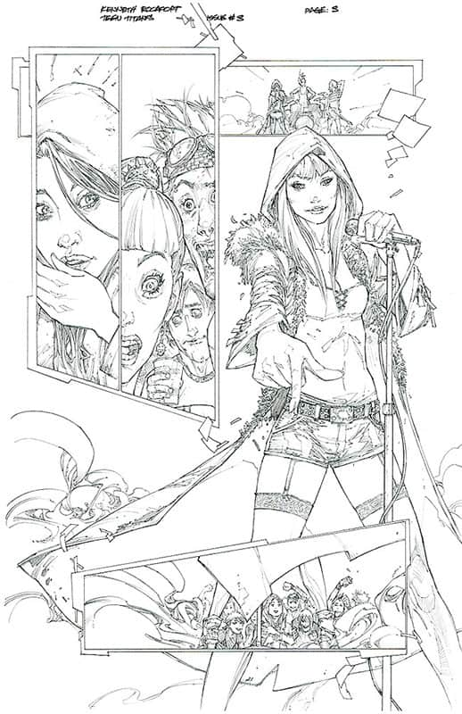 Teen Titans # 3 pg 3