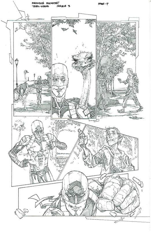 Teen Titans # 3 pg 4