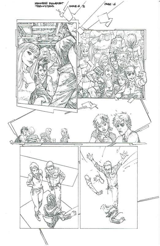 Teen Titans # 3 pg 6