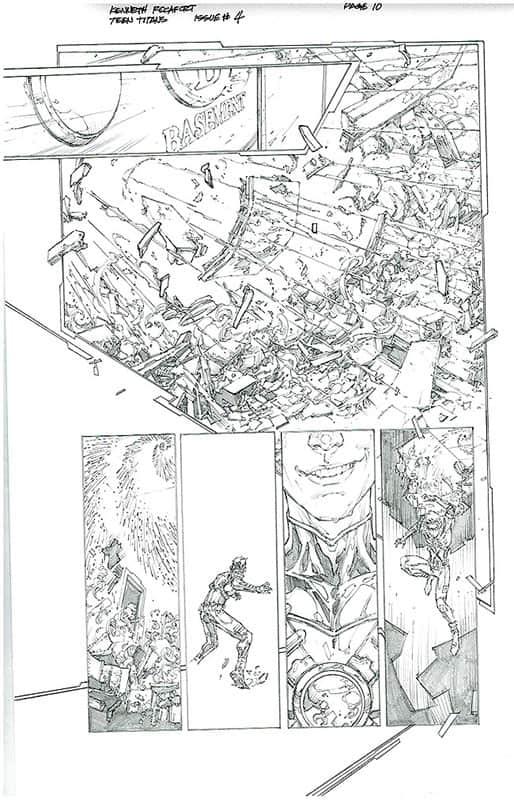 Teen Titans # 4 pg10