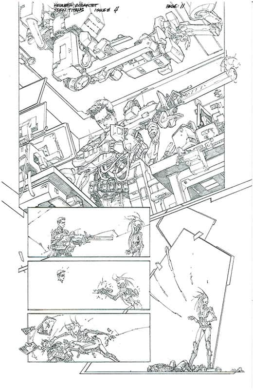 Teen Titans # 4 pg11