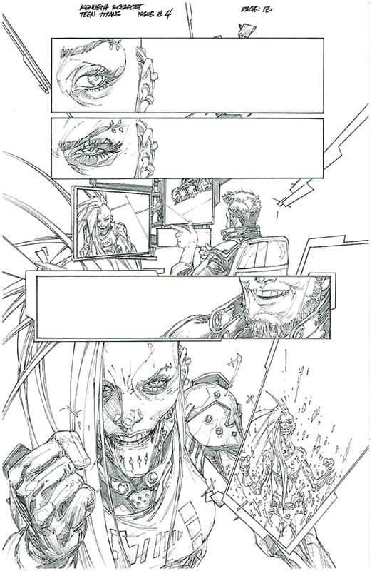 Teen Titans # 4 pg13