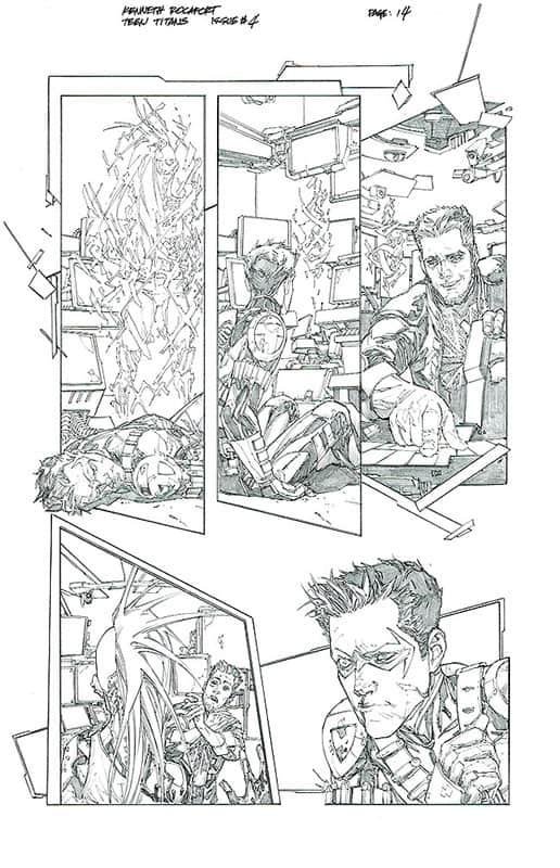 Teen Titans # 4 pg14