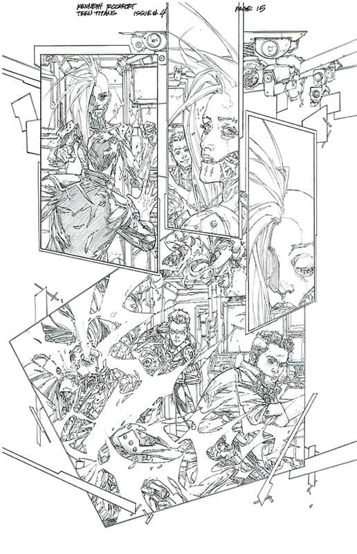 Teen Titans # 4 pg15
