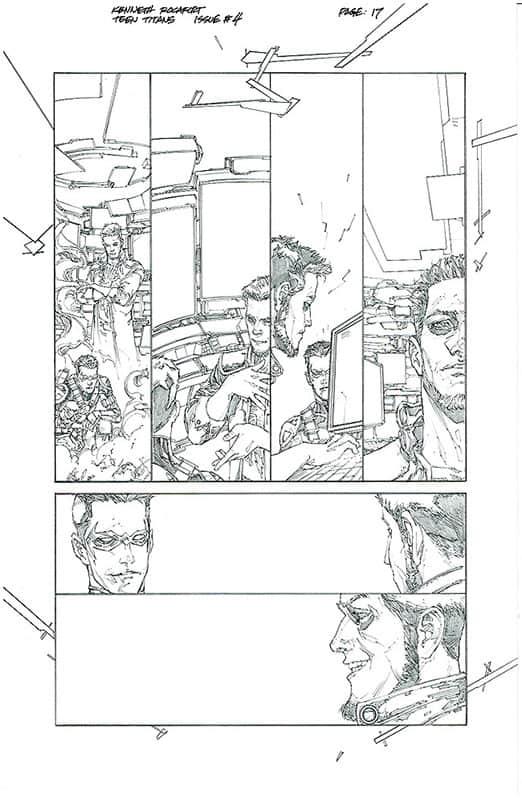 Teen Titans # 4 pg17