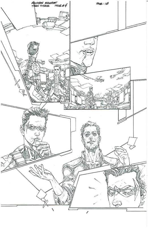 Teen Titans # 4 pg18