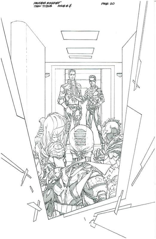 Teen Titans # 4 pg20