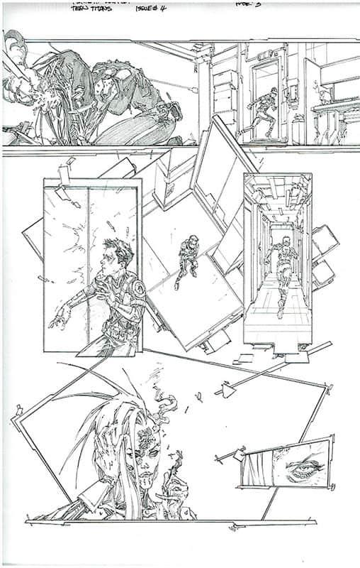 Teen Titans # 4 pg 3