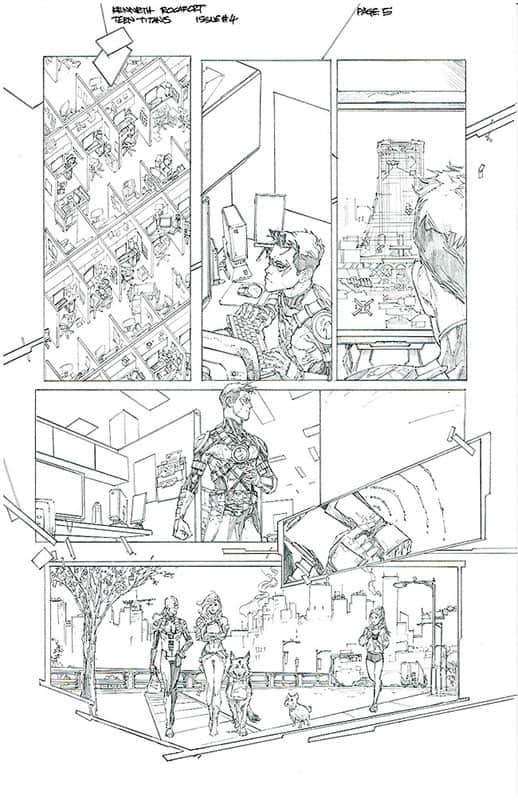 Teen Titans # 4 pg 5