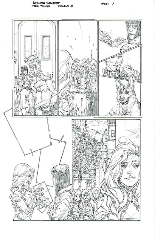 Teen Titans # 4 pg 7