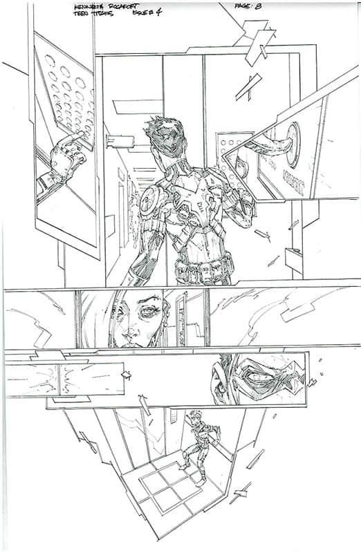 Teen Titans # 4 pg 8