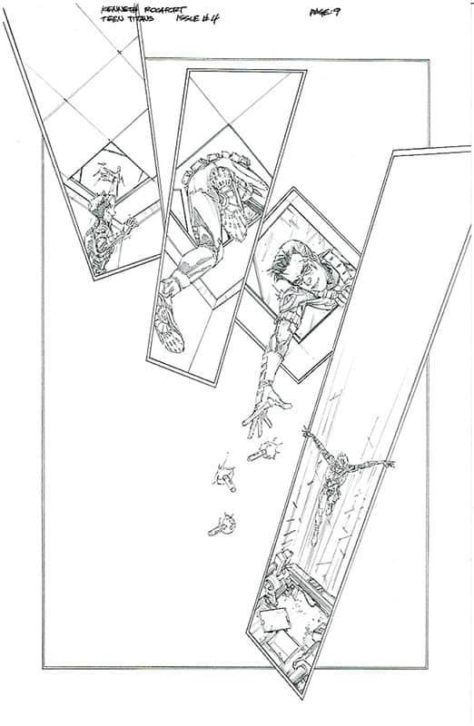 Teen Titans # 4 pg 9