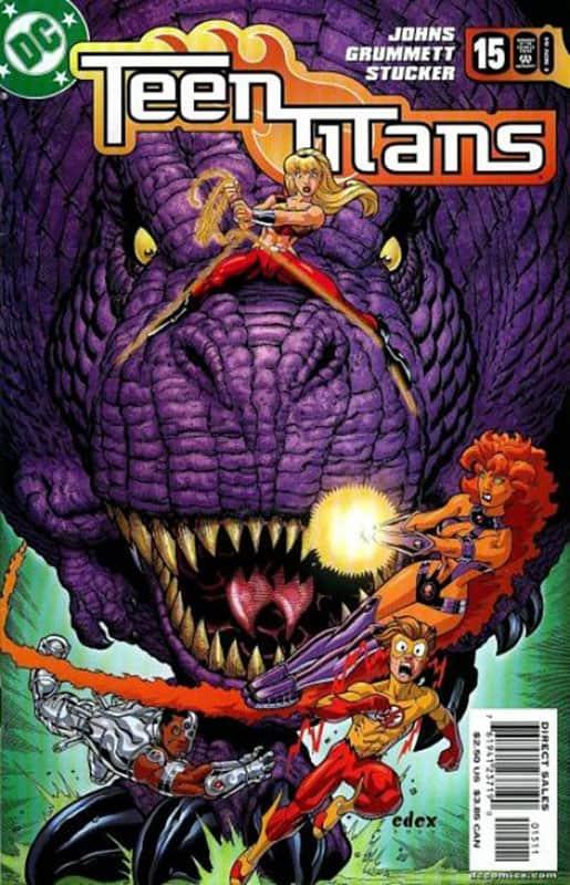 TITANS #15 cover