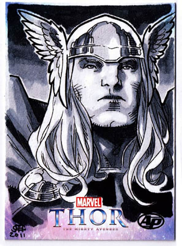 Thor: The Might Avenger Artist Proof Card 2011 A
