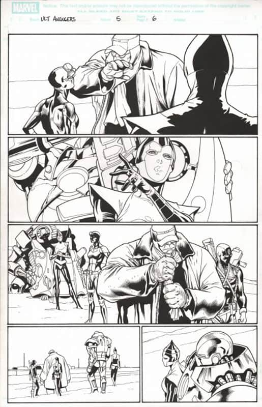 ULTIMATE AVENGERS #5 PG 6