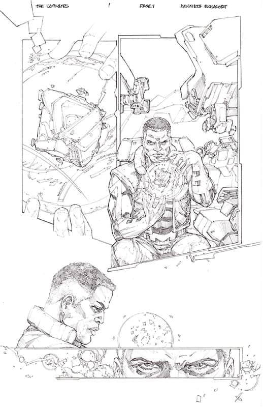 Ultimates # 1 pg 1