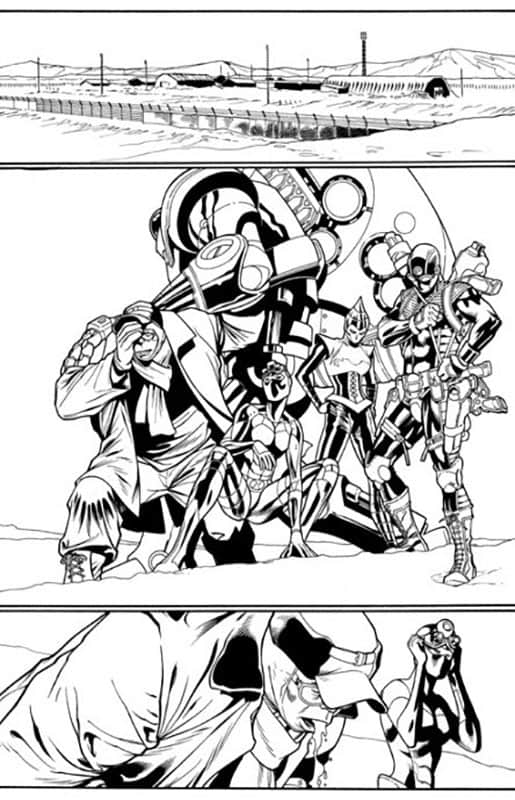 ULTIMATE AVENGERS #5 PG 5