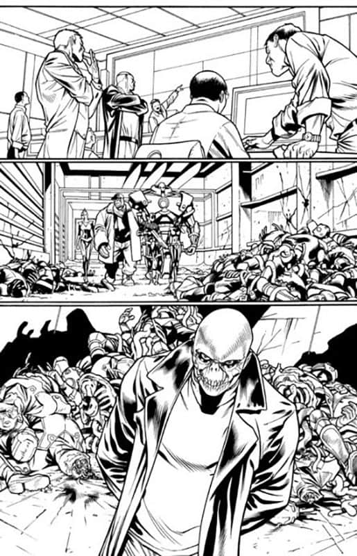 ULTIMATE AVENGERS #5 PG 8