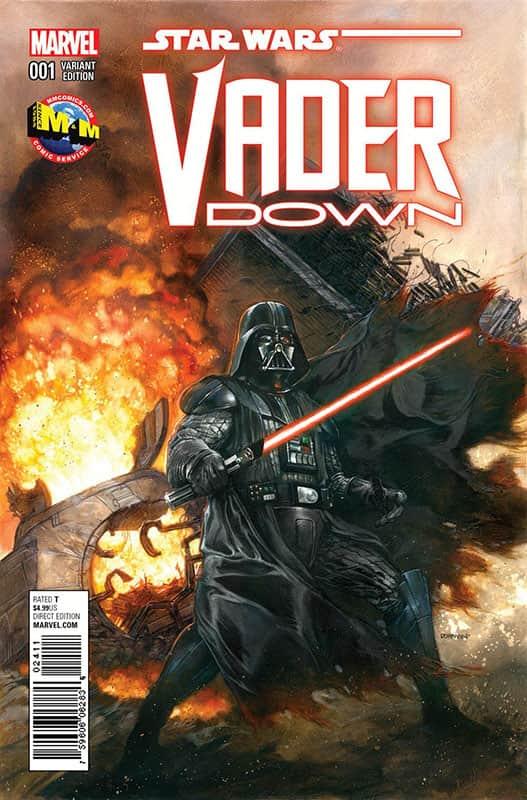 Vader Down # 1 M&M variant