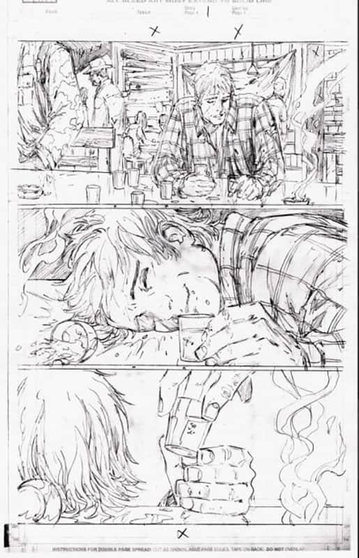 Darkness & Wolverine #1 pg  1