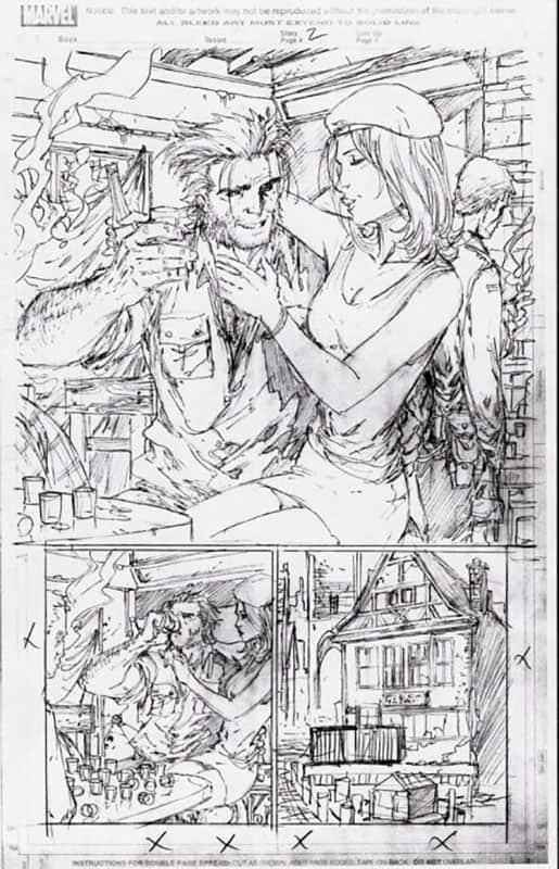 Darkness & Wolverine #1 pg  2