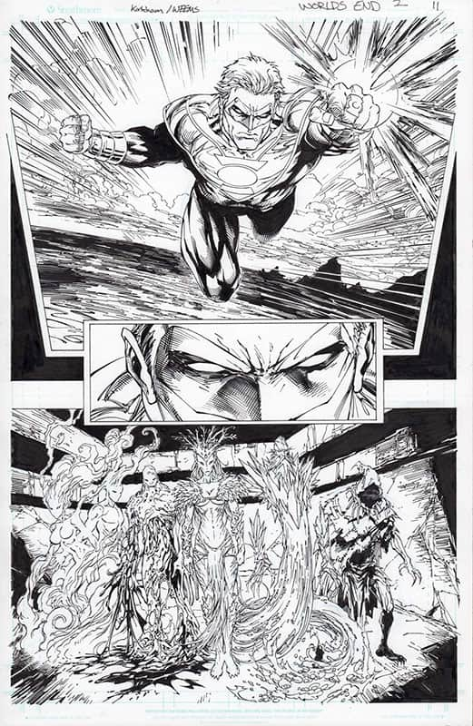 Earth 2: World's End # 2 pg11