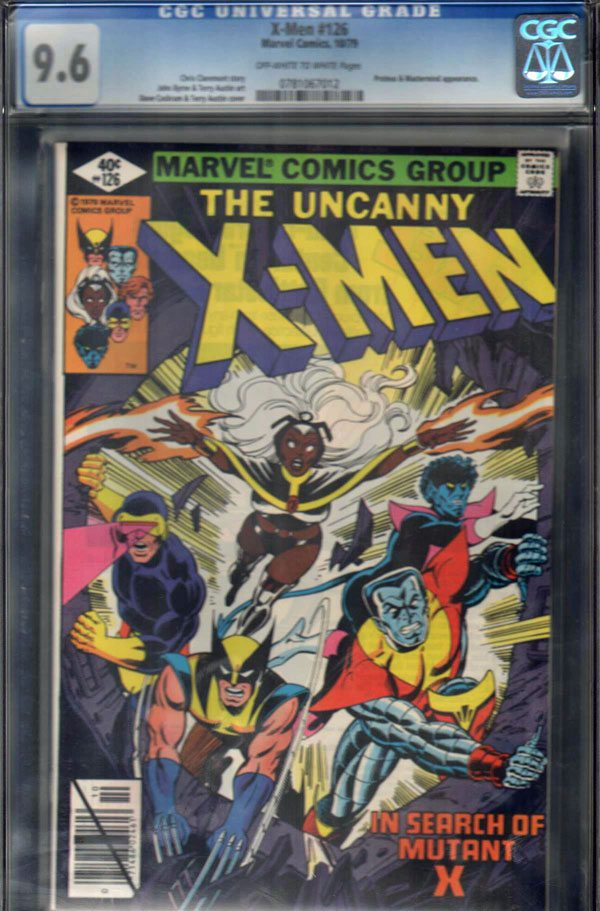 Uncanny X-Men #126 CGC 9.6 OW/WP