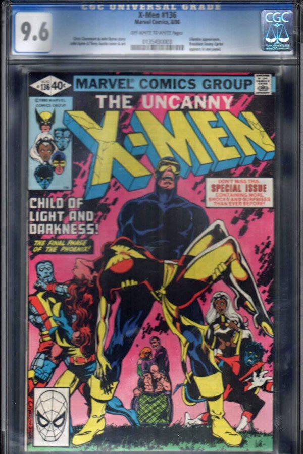 Uncanny X-Men #136 CGC 9.6 OW/WP