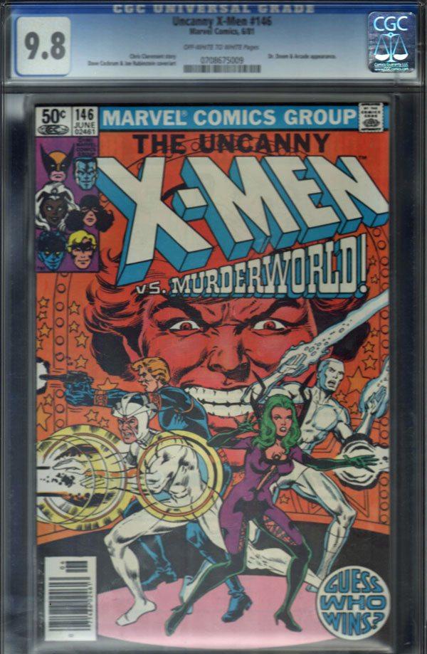 Uncanny X-Men #146 CGC 9.8 OW/WP