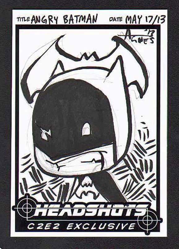 Angry Batman C2E2