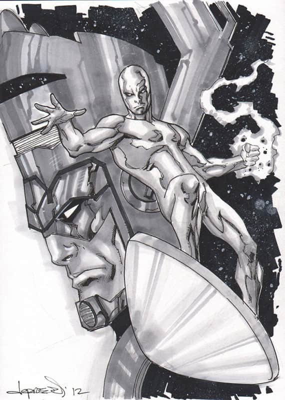 Silver Surfer & Galactus