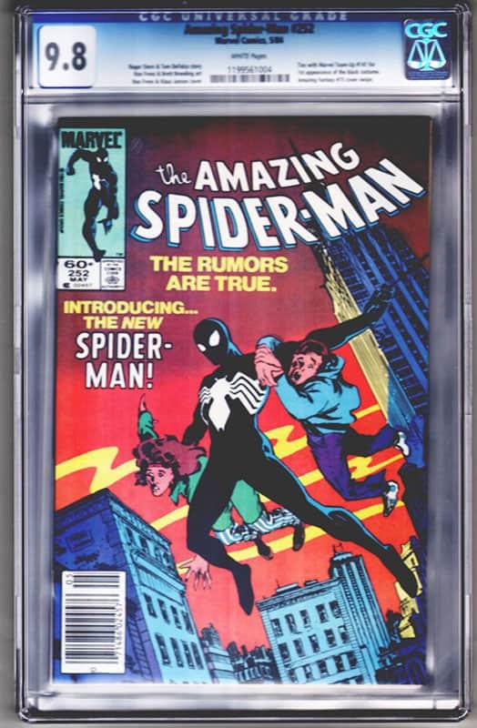 Amazing Spiderman #252 CGC 9.8 WP