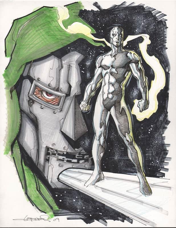 Silver Surfer & Doctor Doom